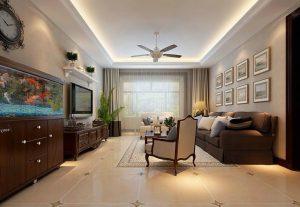 美式风格139平米三居室小清新