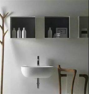 南昌装修房子卫生间包管如何做壁龛,几厘米的空间都不浪费