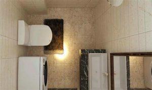 南昌卫生间装修细节经验,感应灯就不合适卫生间